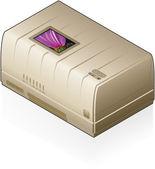 Imprimante jet d'encre — Vecteur