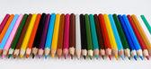 Multi-colored pencils — Stock Photo