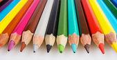 色の鉛筆の数 — ストック写真
