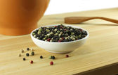 Mixture of peppercorn — Stock Photo