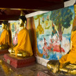 Stock Photo: Golden buddhas