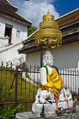 White buddha — Foto de Stock