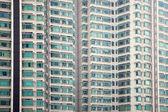 Windows texture at modern building — Stock Photo