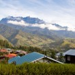 View to the mt. Kinabalu, Borneo, Malaysia — Stock Photo