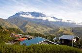 View to the mt. Kinabalu, Borneo, Malaysia — Stock Photo