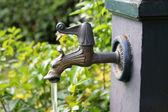 Public faucet — Stock Photo