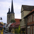 Stock Photo: Church in Burg near Magdeburg