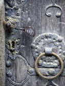 Door knocker church Zinna — Stock Photo