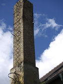 Ailing chimney — Stock Photo