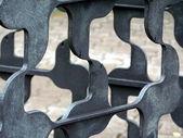 Metal Fencing — Stock Photo