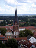 Bad Freienwalde-Nikolai Church — Stock Photo