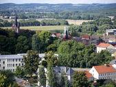 Bad freienwalde-vista desde la torre de observación — Foto de Stock
