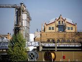 KWO-silos-workshop — Stock Photo