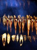 Ryby w piecu — Zdjęcie stockowe