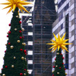 Memorial Church Christmas Tree-2 — Stock Photo