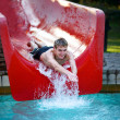 Water slide — Stock Photo