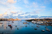 Sunset in Sliema, Malta — Stock Photo