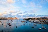 Sunset in Sliema, Malta — Stock Photo