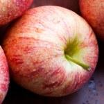 rote Äpfel — Stockfoto