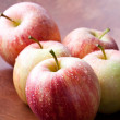 Stockfoto: Red apples