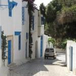 The street in Sidi bu Said — Stock Photo