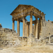 Ruins of Dougga — Stock Photo