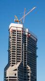 Construction de bâtiments à bureaux — Photo