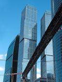 Kontorsbyggnader — Stockfoto