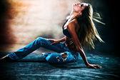 Hete dans — Stockfoto