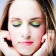 Vivid make up — Stock Photo