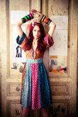 Vestido de verão — Foto Stock