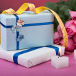 Romantic valentine gifts — Stock Photo