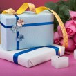 Stock Photo: Romantic valentine gifts