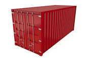 Shipping Container — Stock Photo