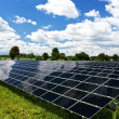Stock Photo: Solar Panel Energy Technology