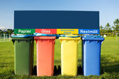 Recycling Bin Trash Garbage — Stock Photo
