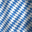 Bavaria Germany Flag - Stock Photo