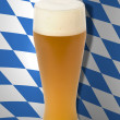 Bavarian Oktoberfest beer glass — Stock Photo