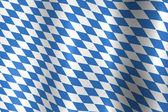 Bavaria Germany Flag — Stock Photo