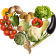 Stock Photo: Colorful Fresh Group Of Vegetables