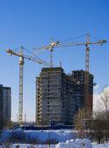 Konut inşaat — Stok fotoğraf
