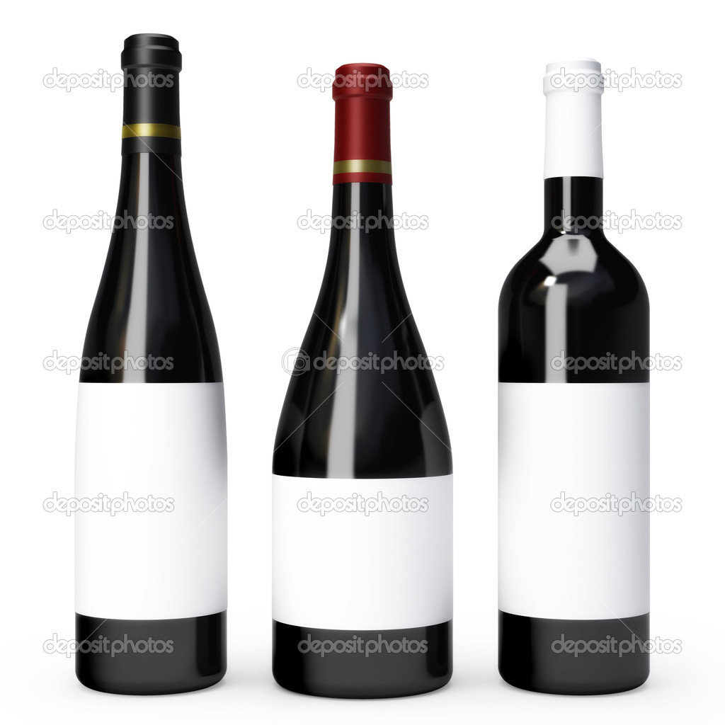 three red wine bottles stock photo 4410350 bottle red wine