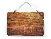 Old wood notice board — Stock Photo