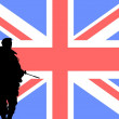 British soldier - Stock Photo