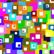 Colourful squares — Stockfoto