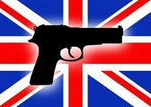 UK Gun Crime — Stock Photo