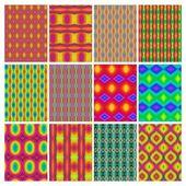 Retro naadloze wallpapers — Stockfoto