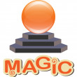 Magic sphere — Imagen vectorial