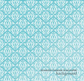 Seamless Damask wallpaper — Vecteur