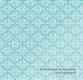 无缝的锦缎壁纸 — 图库矢量图片